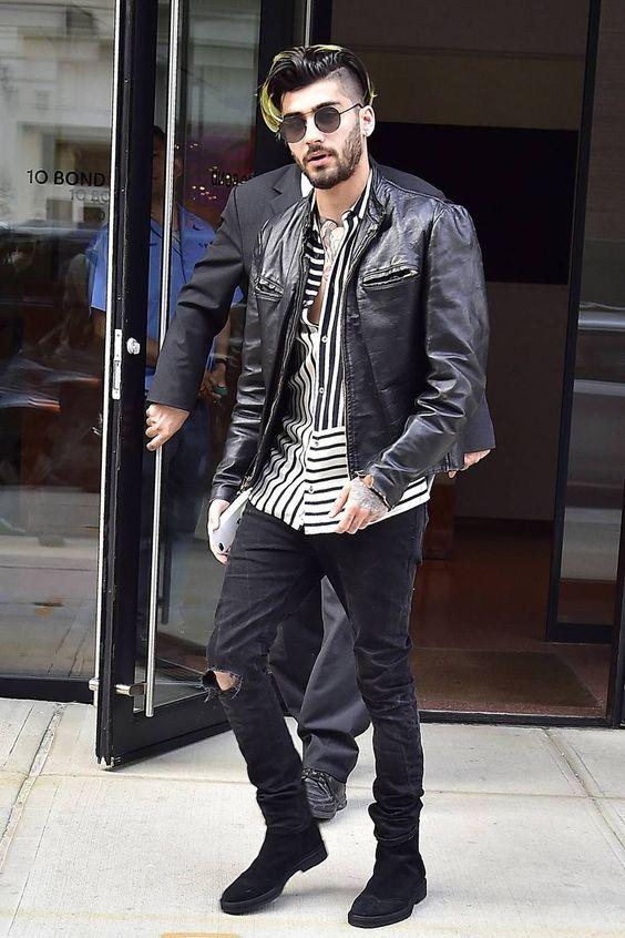 Zayn Malik masculine look