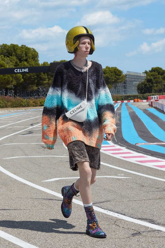 quirky sweater for transitional fashion trends