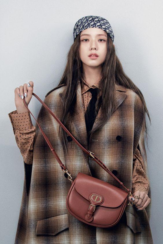 Jisoo Blackpink winter lookbook with Christian Dior