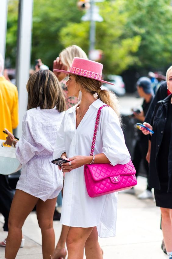 bright accessories to style chic summer look