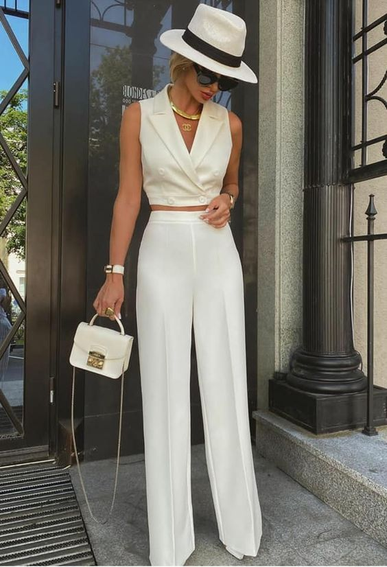 classy summer outfit look