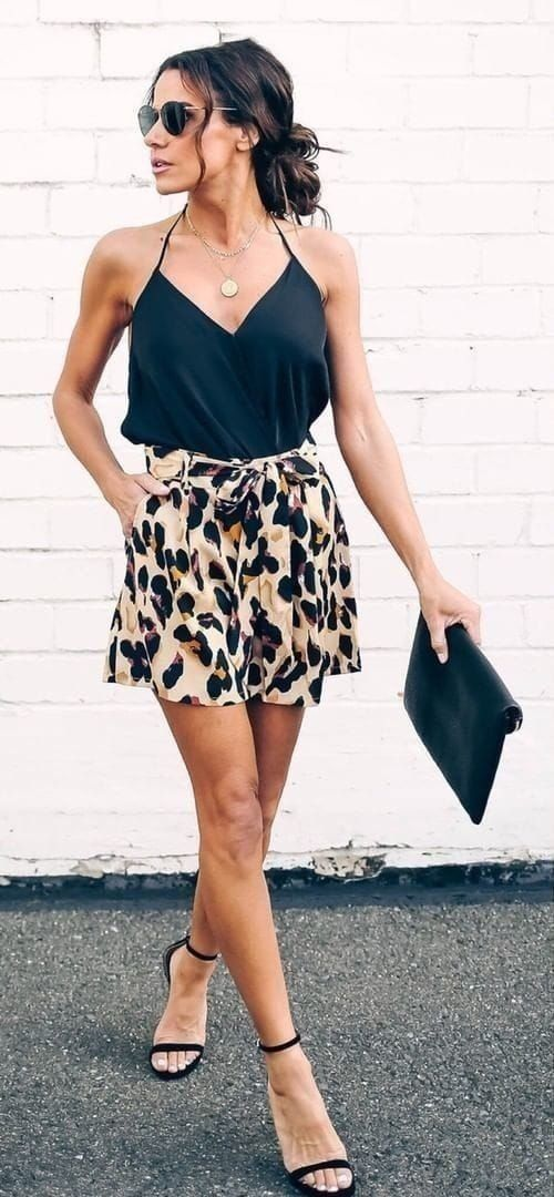 simple and chic summer fashion style