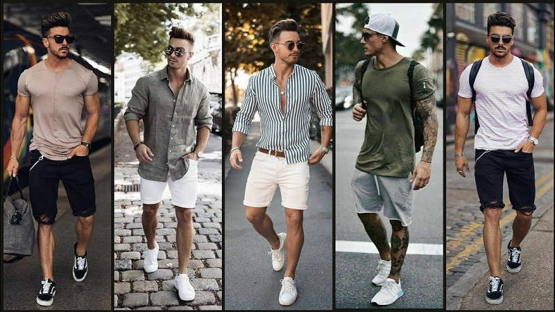 summer shorts for guy trend 2021