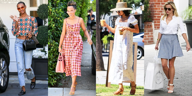 chic summer outfit of the day ideas for ladies