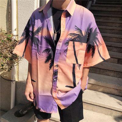 Miami beach summer shirt for men