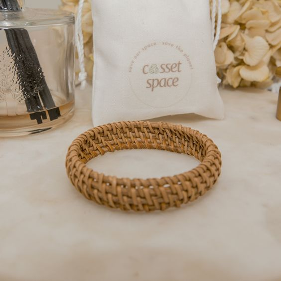 straw bangle for summer accessories
