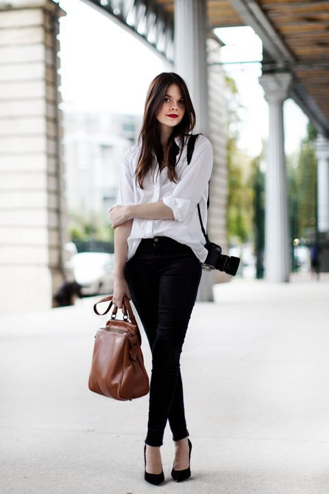 Front tuck-in shirt French style