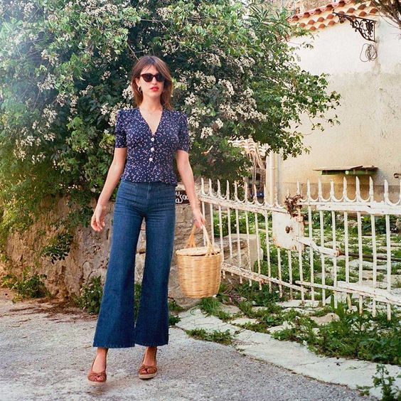 Aesthetic French girl summer look