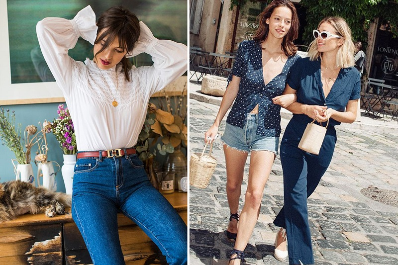 styling jeans like a French girl