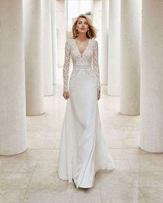 luxury lace mermaid wedding dress