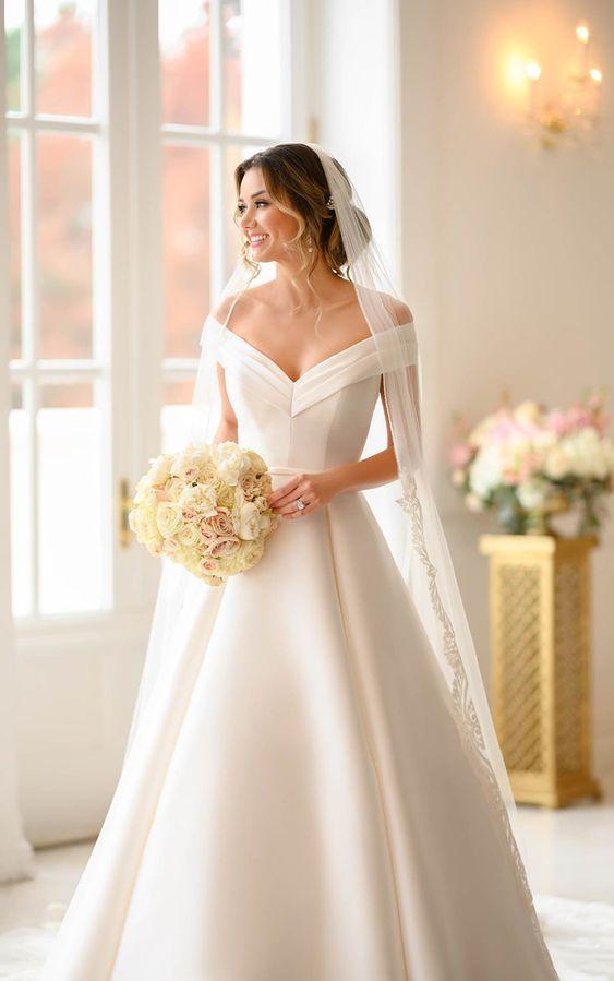 beautiful bride summer dress