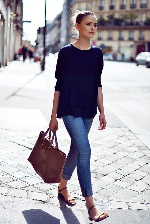 French jeans style skinny jeans