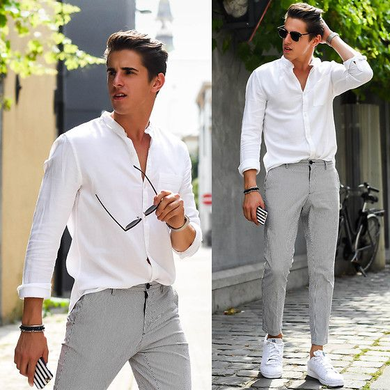 casual wedding guest outfit for men