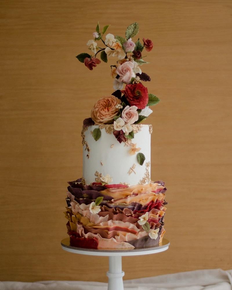 Tropical wedding cake ideas